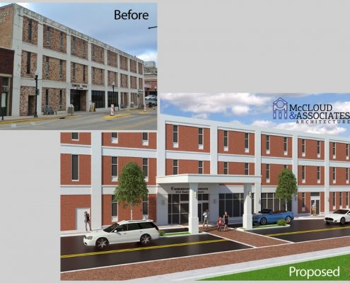 Proposed Physicians Clinic Canopy